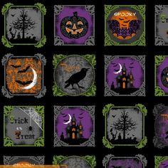 Raven Blocks by Rosemarie Lavin Design for Windham Fabrics Halloween Runner, Halloween Raven, Halloween Blocks, Halloween Quilts, Halloween Fabric, Halloween Pumpkins, Fall Halloween, Hancocks Of Paducah, Windham Fabrics