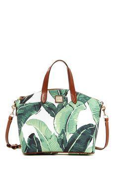 Yes. Palm Leaf Printed Satchel   HauteLook