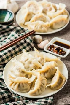 How to Make Chinese Dumplings from Scratch - The ultimate guide to making Chinese dumplings from scratch. The dough can be used for both boiled dumplings (shui jiao, 水饺) and potstickers (guo tie, 锅贴) | omnivorescookbook.com
