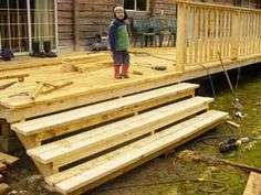 deck steps - want these - ours are too narrow
