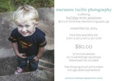 Holiday Mini Sessions!! Email me to sign up! (Mariannelucillephotography@gmail.com)  ©Marianne Lucille Photography #holiday #savannah #georgia #minisession