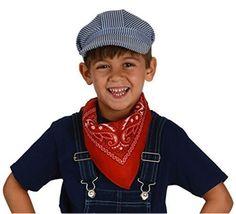 Child's Train Engineer Hats (1 dz) / Conductor Hats @trendingtoystore.com
