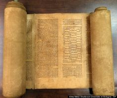 Hebrew studies professor Mauro Perani at the University of Bologna has discovered what is believed to be the world's oldest complete Torah, dating back as far as the 12th century.