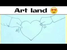 رسم يدين وقلب رسم يدين ماسكه قلب Hands Holding Heart Drawing Youtube Art Home Decor Decals