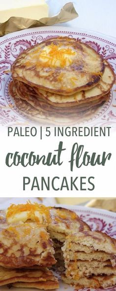 Coconut flour pancakes | Empowered Sustenance