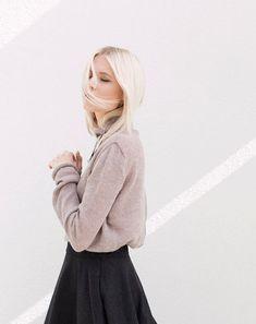 Lightweight winter sweater | relaxed fit winter jumper | purple brown mohair wool sweater | minimalist sweater | minimalist winter jumper