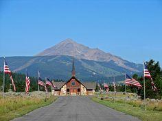 Soldiers Chapel in Big Sky, Montana