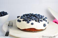 Kokosová torta s tvarohovo-vanilkovým krémom Sweet Recipes, Healthy Recipes, Nutella, Stevia, Sweet Treats, Cheesecake, Muffin, Good Food, Low Carb