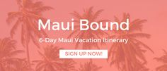 15 Totally Awesome Things to Do in Maui