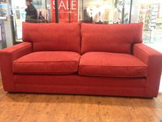 Allardyce, traditionally hand-crafted British sofa - high and deep.  Any fillings and any fabric.