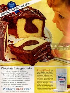 Chocolate Intrigue pound cake recipe Ingredients 3 cup flour 2 teaspoons baking powder 1/2 teaspoon salt 2 cup sugar 1/3 pounds (1-1/3...