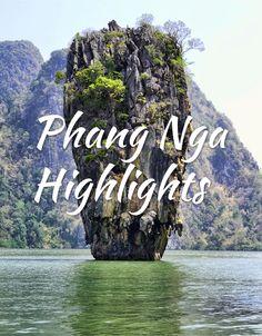 Phang Nga Highlights - James Bond Island and More