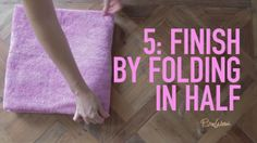 PureWow Presents: The Hotel Towel Fold