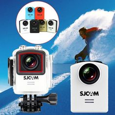 HOT Original SJCAM M20 Gyro Mini Action Helmet Sports DV Camera 30M Waterproof 4K 24fps 2K 30fps 16MP Professional 360 Camera