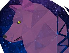 """Check out new work on my @Behance portfolio: """"Geometric Wolves"""" http://be.net/gallery/48739655/Geometric-Wolves"""