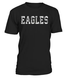 Looking for an Eagles t shirt to show your support for your favorite team? Awesome old school retro script name design for football, baseball, hockey, soccer, softball, fantasy sports or any other team sport or activity you love.                                                                                                                                        ...