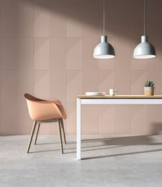 New Italian Ceramic Tile Trends. These modern tiles with a variety of line designs help to create movement, add height, and generate visual interest, in any room. Contemporary Tile, Large Format Tile, Italian Tiles, Parquet Flooring, Color Tile, Living Room Kitchen, Dining Rooms, Dining Table, Tile Design