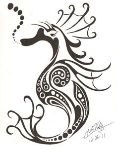 The Pregnant Seahorse!! by Grudge-puppet on DeviantArt