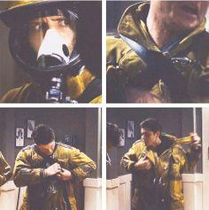 [gifset]1x22 Devil's Trap #SPNS1 #Dean #Sam