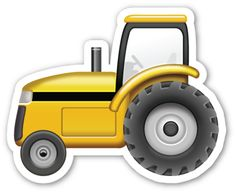 Tractor | EmojiStickers.com