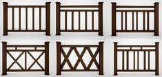 Front porch railing style ideas