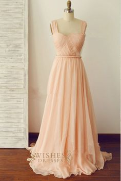 A-line Sweetheart With Straps Sexy Bridesmaid Dress Mismatched /Long P – Wishes Dresses
