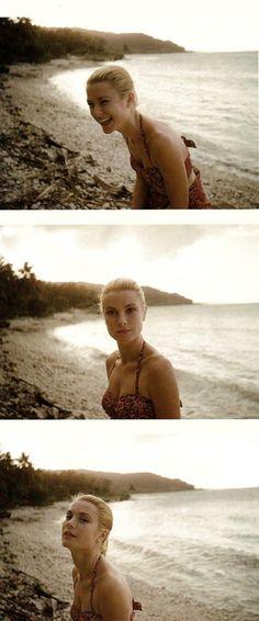 Grace Kelly, beach, ocean