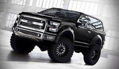 2017 Ford Bronco Black