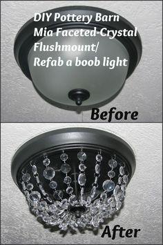 Get rid of boob lights!