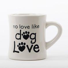 Dog Diner Mug - No Love Like Dog Love
