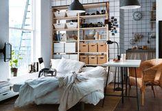 Ikea Bedroom Lighting Bedroom, Ikea Look