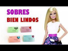 Cómo hacer sobres para muñecas - Manualidades para muñecas - YouTube