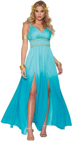 Aphrodite Adult Costume. Stunning Costume. #greek goddess costumes