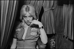 Cherie Currie aged 16, photographed by Chris Stein, 1976