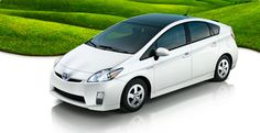 Toyota Prius....I wish it looked better on the outside....50mpg is so needed at the Walker house!!!  It is a nice car just kinda ugly....I did drive it today!!!