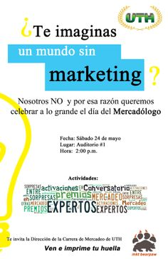#UTH #Universidad #Mercadeo #Marketing #Mercadólogo #DíaDelMercadólogo