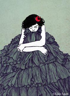 Lost in my dress