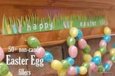 50+ non-candy Easter Egg fillers - blogs.babycenter.com - perfect for toddlers, just look out for choking hazards...