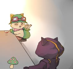 Teemo and Kennen