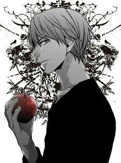 Light Yagami is Kira Death Note Light, L Death Note, Shinigami, Blue Exorcist, Kaneki, Manga Tokyo Ghoul, Hetalia, Manga Anime, Anime Art