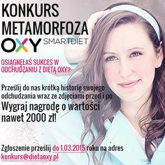 #konkurs #dietaoxy #odchudzanie #motywacja Regulamin konkursu: www.dietaoxy.pl/doc/regulamin-metamorfoza-OXY.pdf