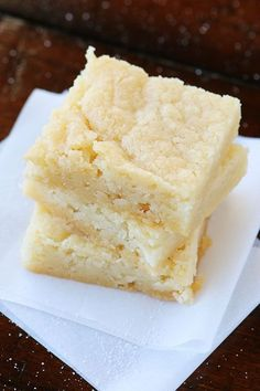 Dutch Butter Cake. This tastes JUST like what we had in Amsterdam. Only 4 ingredients, and everyone always raves over it!! #recipe