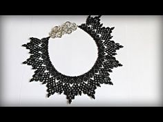 How To Make Necklace At Home | Necklace | Diy - YouTube Jewelry Patterns, Beading Patterns, Diy Necklace, Crochet Necklace, How To Make Necklaces, Bead Crafts, Hair Pins, Seed Beads, Beaded Jewelry