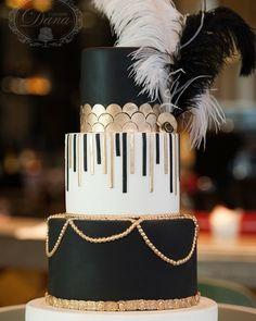 Great Gatsby Cake And Candy Bar Tort și Cu Tema Marele Www