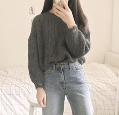Look at this Cool korean fashion trends 1009982813 Korean Street Fashion, Korean Girl Fashion, Korean Fashion Trends, Ulzzang Fashion, Asian Fashion, Look Fashion, Fashion Ideas, Korean Fashion Winter, Trendy Fashion