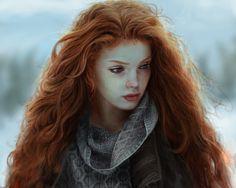 ArtStation - Cold fire, Marena Torstein