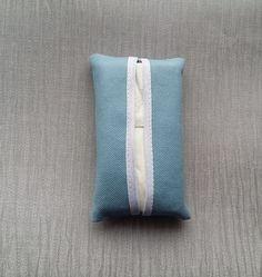Pocket Tissue Case Blue £2.00