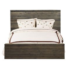 Found it at AllModern - Calavar Wood Headboard