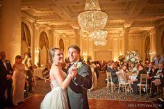 Wedding lighting at the Jefferson Hotel / Empire Room in Richmond