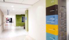 Dura Architectural Signage » ColumbiaDoctors Midtown – Corner Wrap Directories